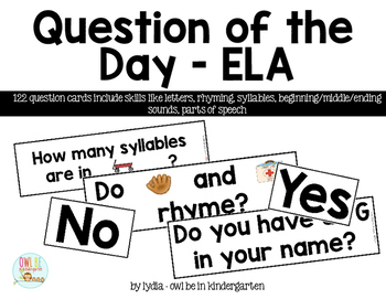 Question of the Day - ELA