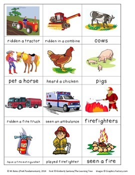 Question of the Day #1 Farm, Family, School, Fire Safety