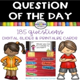 Question of the Day - Yes No Questions - DIGITAL and PRINTABLE