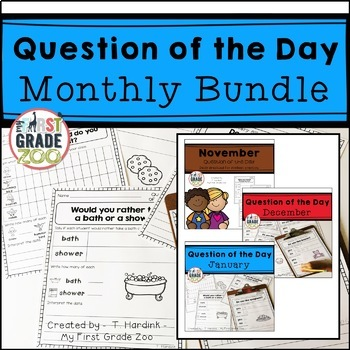 Question of the Day Graphing Bundle
