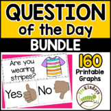 Question of the Day Graphs BUNDLE