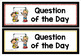 {FREE} Question of the Day Headings Cards