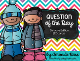 Question of the Day: January Edition {22 cards}