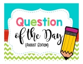 Question of the Day (January-May)