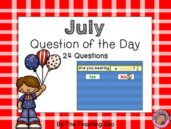 Question of the Day {July}