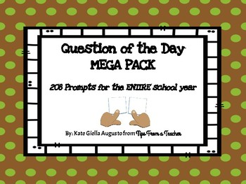 Question of the Day MEGA PACK