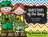 Question of the Day: March Edition {22 cards}