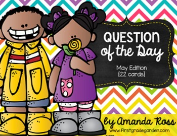 Question of the Day: May Edition {22 cards}