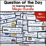 Question of the Day for Preschool, Pre-K and Preschool Mega-Bundle