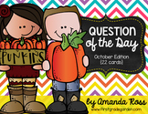 Question of the Day: October Edition {22 cards}