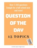 Question of the Day- Over 1,100 Questions!