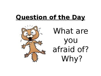 Question of the Day PowerPoint