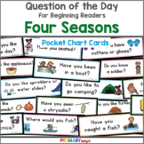 Question of the Day Bundle: Four Seasons (Pocket Chart Cards)