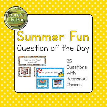 Question of the Day Graphing Summer Set