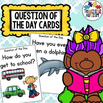 Question of the Day Visual Cards