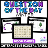 Question of the Day- WINTER -- BOOM Digital Task Cards