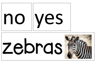 Question of the Day / Week Animals * 31 Choices * Easy Prep * Ready to Go