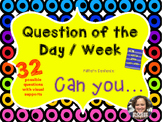 Question of the Day / Week * Can you * 32 * Easy Prep * Ready to Go