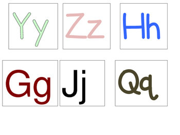26 Question of the Day / Week Letter Recognition