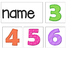 Question of the Day / Week Number of Letters Easy Prep