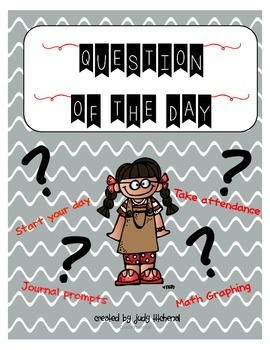 Question of the Day for Attendance, Writing and Math