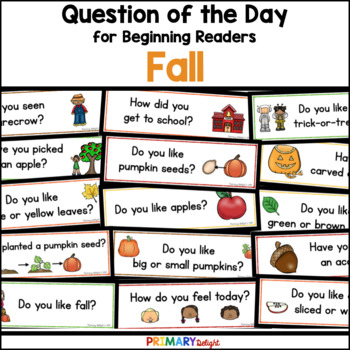 Question of the Day: Fall/Autumn by Primary Delight