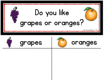 Question of the Day for Beginning Readers (Sign-in Sheets)