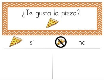 Spanish: Question of the Day for Beginning Readers (Sign-in Sheets)