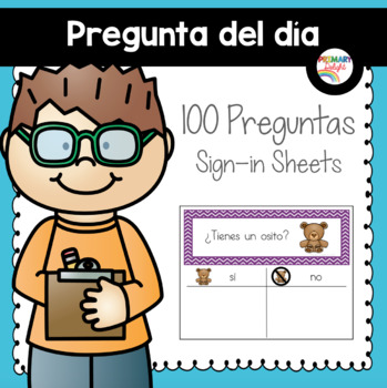 Spanish: Question of the Day for Beginning Readers (Sign-i