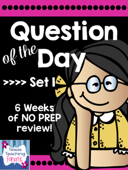 Question of the Day for Editing & Revising SET 1