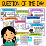 Question of the Day - for Morning Meetings, Digital Writin
