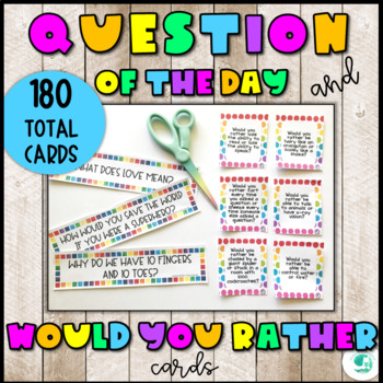 Question of the Day (set of 90 open ended questions)