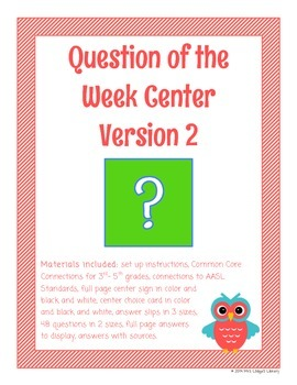 Question of the Week Center, Version 2