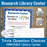 Question of the Week Research Center with Differentiated R