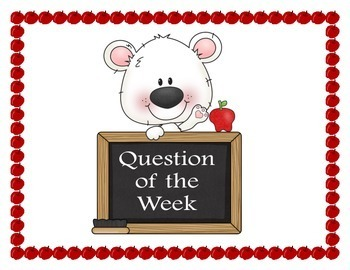 Question of the Week Year Round Bulletin Board