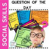 Question of the Day for PreK Kindergarten First and Second Grades