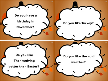 Question of the day- November
