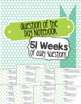Question of the day prompt notebook