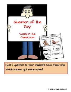 Question of the day- voting in the class