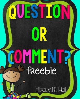 Question or Comment Sort
