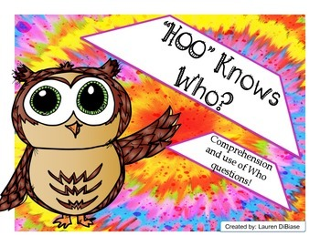 """Question packet- """"Hoo"""" Knows Who?"""