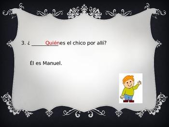 Question word practice