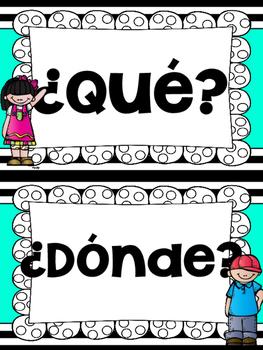 Question words (English/Spanish)