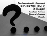 Question words posters in French