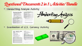 Questioned Documents Activities (2 in 1 Forensic Science Bundle)