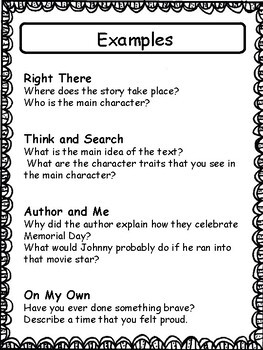 QAR: 4 Types of Questions