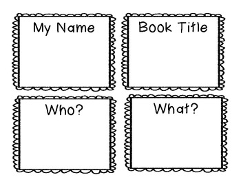 Questioning:  A Mini-book to Make for Any Story - CCSS Aligned