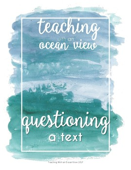 Questioning A Text