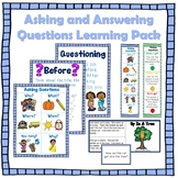 Asking and Answering Questions Learning Pack