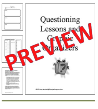 Questioning Bundle for Guided Reading and Beyond
